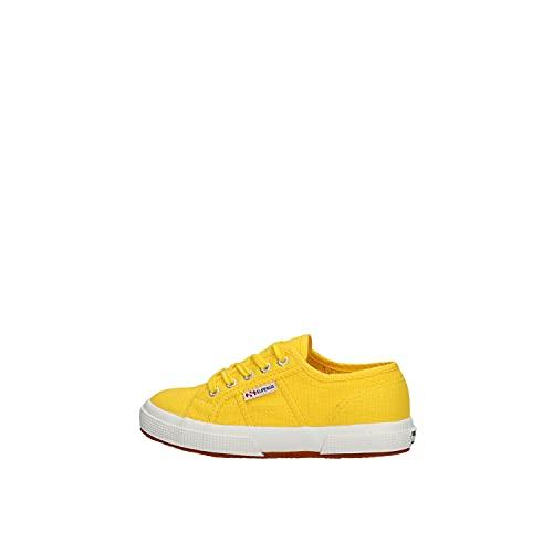 scarpe gialle bambino Superga 2750-Jcot Classic