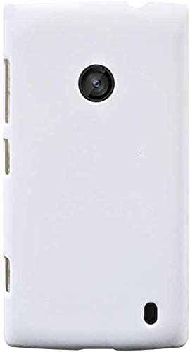 Technify Battery Back Door Glass Panel Cover for Nokia Lumia 520 White