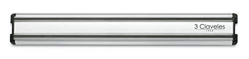 3 Claveles - Soporte Magnético Cuchillos, Aluminio - (30 cm)