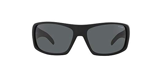 ARNETTE La Pistola gafas de sol, Fuzzy Black, 55 MM para Hombre