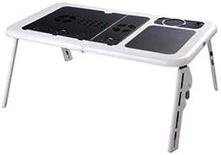 Suporte Mesa Portatil Para Notebook e Netbook Com Cooler Dobravel Branca (BSL-MESA-2 / mc40228)