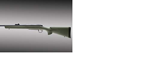 Hogue 70201 Remington 700 Bdl Long Action OverMolded Stock, Standard Barrel, Pillarbed Olive Drab Green