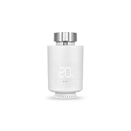 Vesta Valve: Válvula termostática Wi-Fi, Control Inteligente de la calefacción Mediante SPC IoT App, Amazon Alexa, Google Assistant
