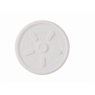 Stalwart Cd945 Vented couvercles pour s'adapter au mousse Tasses Cd942, 300 ml, 10 G, (lot de 1000)