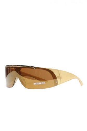 Iceberg Unisex Sonnenbrille , Farbe: Goldfarben, Größe: 90