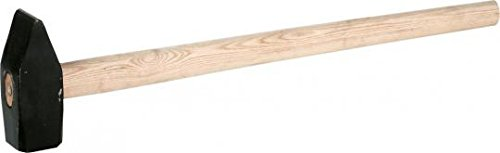 TRIUSO Vorschlaghammer 5 kg mit Eschenstiel 80 cm