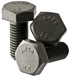 Plain Finish 1-8 Steel Structural Bolt with Nut 250 PK 2-1//2L A325 Type 1