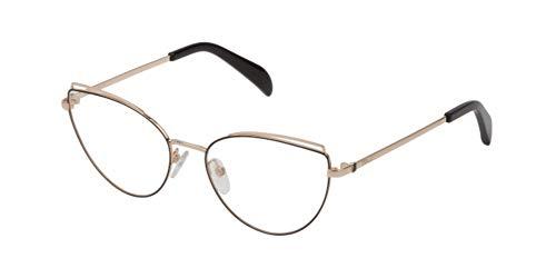 TOUS Vto383, Monturas De Gafas Mujer, Sh.rose Gold W/black Parts (0301)