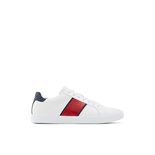 ALDO Men's Cowien Sneaker, White, 10
