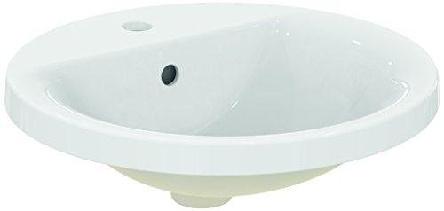 Ideal Standard E504201Connect Waschtisch Sphère Wandanschlussbogen 48Weiß