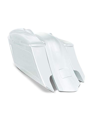 Buy Bargain Harley Davidson 6 down and 9 out angle saddlebags and fender kit dual cut outs + 8 sp...