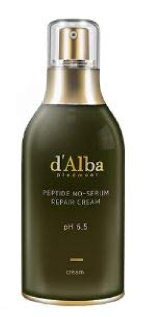 休眠パノラマくつろぐ[dAlba] Peptide no sebum Repair Cream 50ml /[ダルバ] ペプチド ノーシーバム リペアクリーム50ml [並行輸入品]
