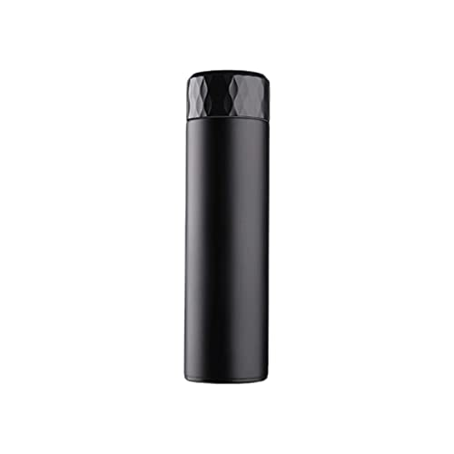 WGLL Botella con aislamiento de agua de la botella de agua LED inteligente Botella de acero inoxidable de la pared doble con la pantalla de la temperatura LED Frasco de café Thermos para mujeres Regal