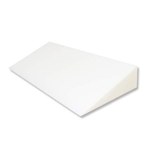 Fränkische Schlafmanufaktur Keilkissen Bettkeil Poly 14,5/1cm für Matratzen und Wasserbetten Breite 140cm