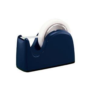 (業務用3セット)プラス テープカッターTC-301ネイビー 5台 ds-1472195