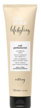 Rojo Curl Perfectionist Crema modelante para el pelo Rizado 150ML