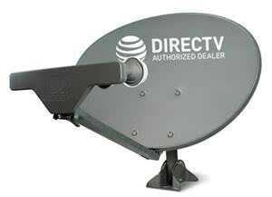 Ready to Install Package at&T Directv HD Satellite Dish SWM5 LNB + RG6 COAXIAL Cables Included Ka/ku Slim Line Dish Antenna SL5 AU9 Single Output W/ 4 Port Splitter