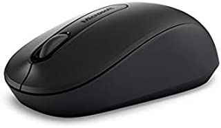 Microsoft PW4-00009 Blue Track Technology Wireless Laser and Mobile Mouse - Black