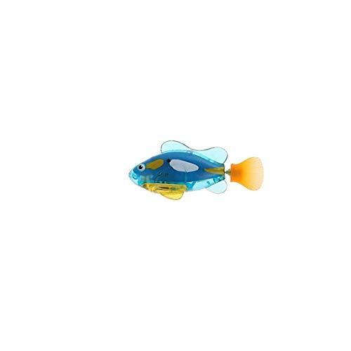 Juguete De Plástico Pez Robot Pescados De La Natación con Pilas Piscina Eléctrico Flotante Activado Agua Pez Payaso Robótica Pescado En Juguetes Electrónicos De Agua para El Botón del Regalo La
