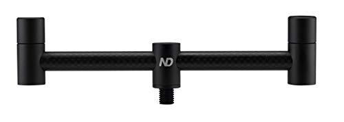 New Direction Tackle 2 Rod Carbon Buzz bar 6.5 inch for Carp Fishing