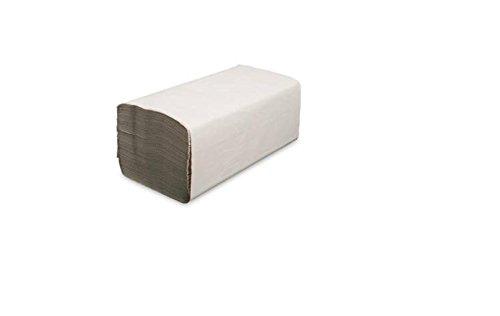 5000 Falthandtücher 1-lagig 25 x 23 cm natur Krepp ZZ-Falz Papierhandtücher Handtuchpapier Einmalhandtücher