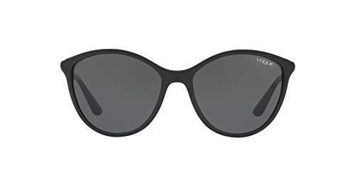 Vogue Eyewear 0VO5165S W44/87 55 Occhiali da sole, Nero (Black/Gray), Donna