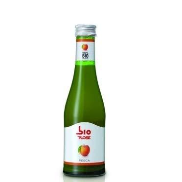 PLOSE Succo Bio PESCA 20 cl. vetro a perdere - Pacchi da 24 bottiglie