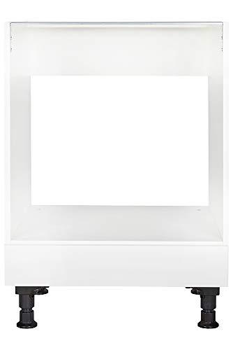nobilia elements Küchenschrank Unterschrank für Einbau-Herd mit Schubkasten 60 cm