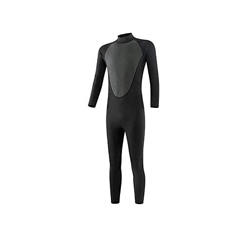 Tauchanzüge, Neoprenanzüge Frauen Männer, mit ultrastreckendem Ganzkörper-Thermal-Warm-Surf-Tauchanzug, zum Tauchen, Schwimmen, Surfen Wassersport (Size : XXX-Large)