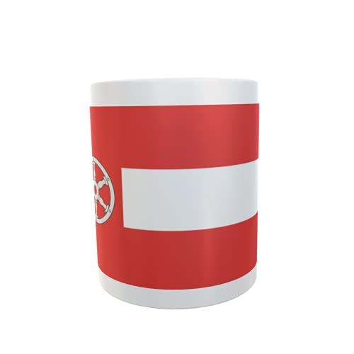 U24 Tasse Kaffeebecher Mug Cup Flagge Erfurt