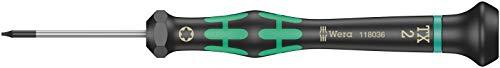 Wera 2067 Elektroniker-Torx-Schraubendreher, TX 2 x 40 mm, 05118036001