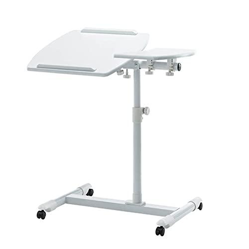 Cajolg Mesa para ordenador portátil, portátil, mesa auxiliar de oficina, escritorio, escritorio, escritorio, escritorio, escritorio, portátil, adecuado para mesilla de noche, trabajo en casa, oficina,
