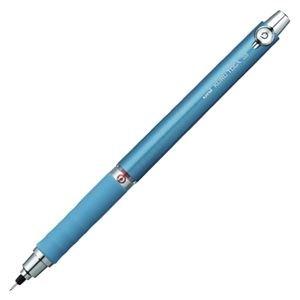 (業務用セット) 三菱鉛筆 クルトガ ラバーグリップ付(0.5mm芯) M5-656 1P.33 ブルー 1本入 【×5セット】