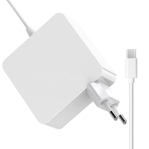 OOTOMI Cargador Type C 65W, Compatible con teléfonos móviles, PC, iPads, Cargadores MC-Book Pro, Cargador USB C de 13/15 Pulgadas , con Cable de Carga USB-C de 2M y Enchufe de la UE