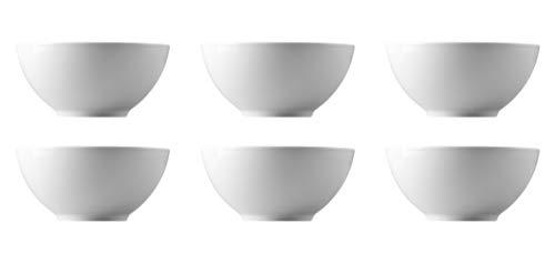 Thomas - Loft by Rosenthal Weiß - Bowl rund - 11900-800001-10570 - 6 Stück - Schüssel-Set - Durchmesser je Schale 15 cm
