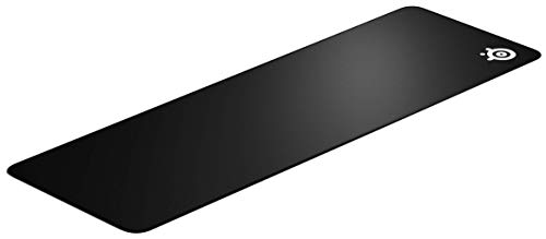 SteelSeries QcK Edge - Cloth Gaming Mouse Pad - stitched edge to prevent wear - optimized for gaming sensors - size XL
