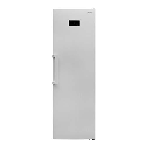 Sharp SJ-SC41CHXW2-EU Gefrierschrank / A++ / Höhe 186 cm / Gefrierteil 280 L / NoFrost / LED-Display / Supergefrier-Funktion / 7 Gefrierschubfächer / mechanischer Eiswürfelbereiter