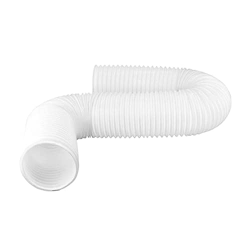 JIAN 2M Universal Flexible Aire Acondicionador de Ausión Manguera de Escape Tubo de ventilación 13cm Diámetro Ducto Doble Extensión Portátil Portátil Exquisite