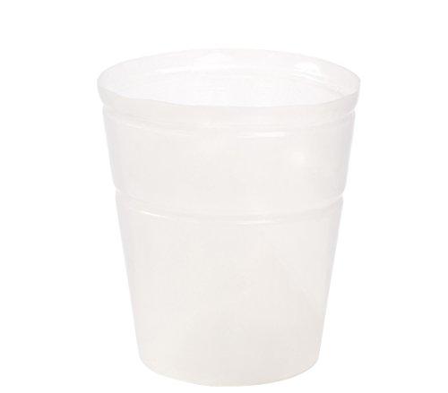 Dehner Utilisation de Pot, Flexible, Ø 35 cm, Hauteur 45 cm, Plastique, Transparent