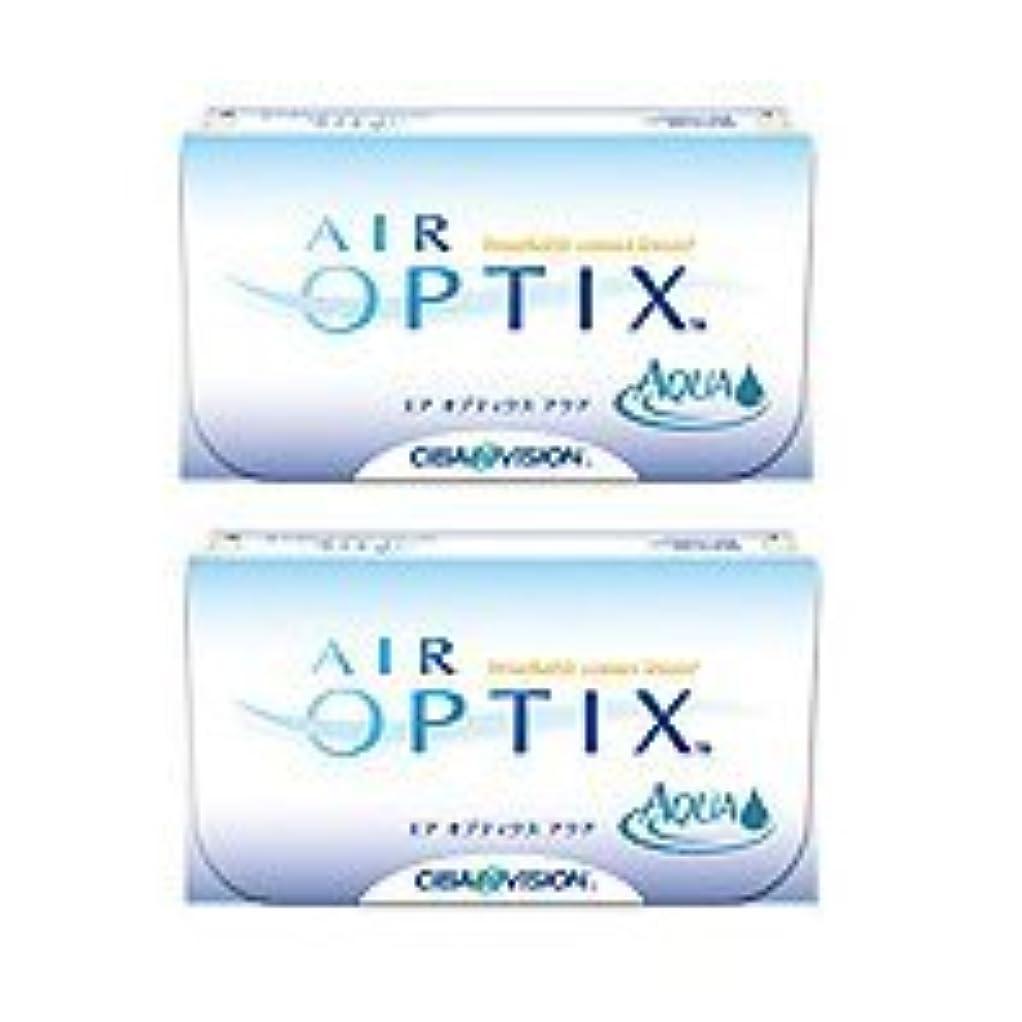 北へ安心させる健康的エア オプティクス アクア 【BC】8.6【PWR】-5.00 6枚入 2箱