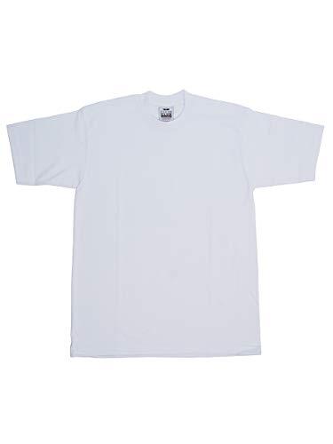 PRO CLUB Tシャツ プロクラブ 半袖Tシャツ TEE HEAVY プロクラブ トップス ストリート (2XL, WHITE)