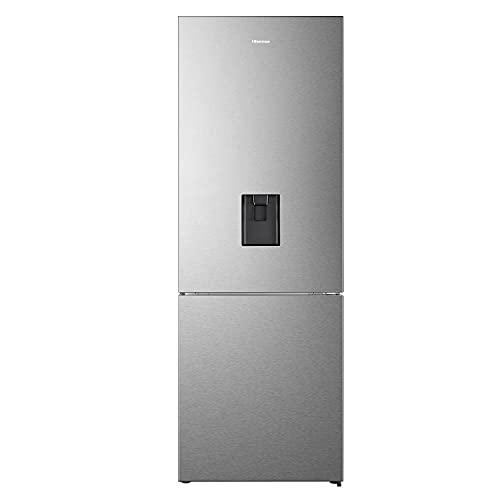 Hisense RB645N4WIF, Frigorifero Combinato, 489L, Classe F, Black Inox, Water Dispenser