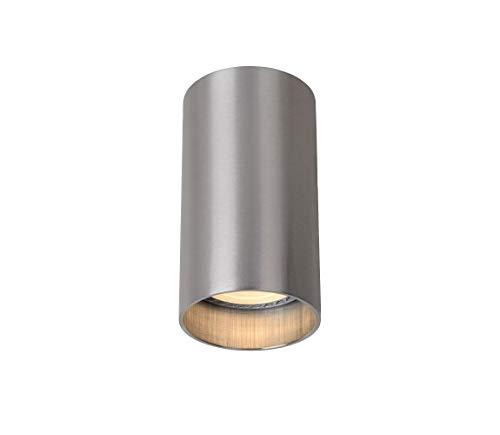 Lucide DELTO - Spot Plafond - Ø 5,5 cm - LED Dim. - GU10 - 1x5W 3000K - Chrome Dépoli