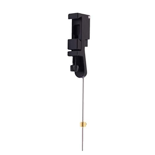 BESPORTBLE Arco Flecha Extendida Clicker Metal Ringing Stick Piezas de Arco Recurvo Accesorio de Flecha para Tiro con Arco Recurvo