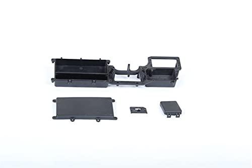 HONG YI-HAT 1/5 Escala para RC Baja Parts Rovan LT Truck Repuestos Caja de batería Kits 87020 Piezas de Repuesto