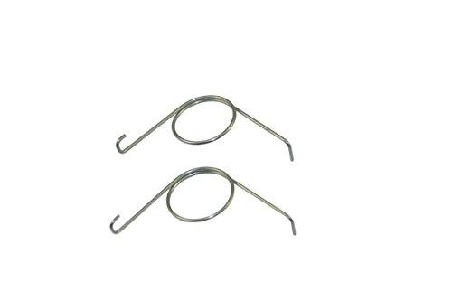 Laufwagen Ersatzfeder für GU PSK rechts DIN-R Feder für Laufschuh Reparatur Neu (2 Stück)