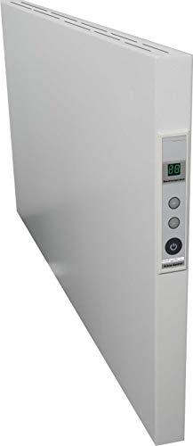 Infrarotheizung Infrarotplatte Elektroheizkörper Hybrid Serie (verschiedene Größen und Leistungen) rahmenlos steckerfertig für Räume bis zu 30m² Wandmontage (1000W - 1000x600x40mm)