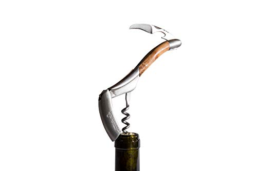 Laguiole en Aubrac Sommelier, Kellnermesser, Wacholder, Edelstahl matt, Original aus Frankreich