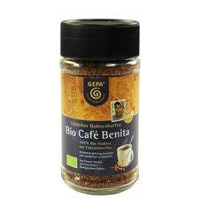 GEPA Premium Bio Café Benita - Instant Koffie - 1 doos (6 x 100 g) Fair Trade koffie
