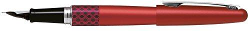 Pilot - Pluma MR Retro Pop - Rojo & Wave Ring con Estuche